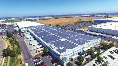 Platinum Zero Waste Certification Solar Panel Building